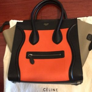 Authentic Celine Bag 3 colors big size